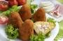 Arancina al Prosciutto e Mozzarella  (Mignon)